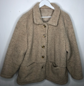 Oatmeal Teddy Bear Jacket