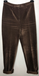 Highwaisted Brown Cord Trousers