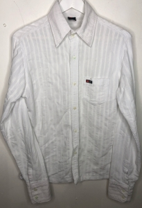 Long Sleeve White Diesel Shirt