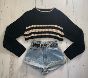 Cropped Ribbed Jumper Levis OUTFIT OFFER