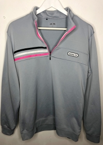 Adidas Quarter Zip Pull Over