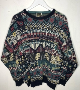Colourful 90s Jumper