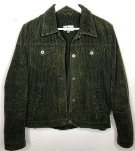 Olive Green Cord Jacket