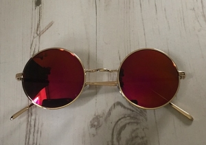 Colour Changing Circle Sunglasses